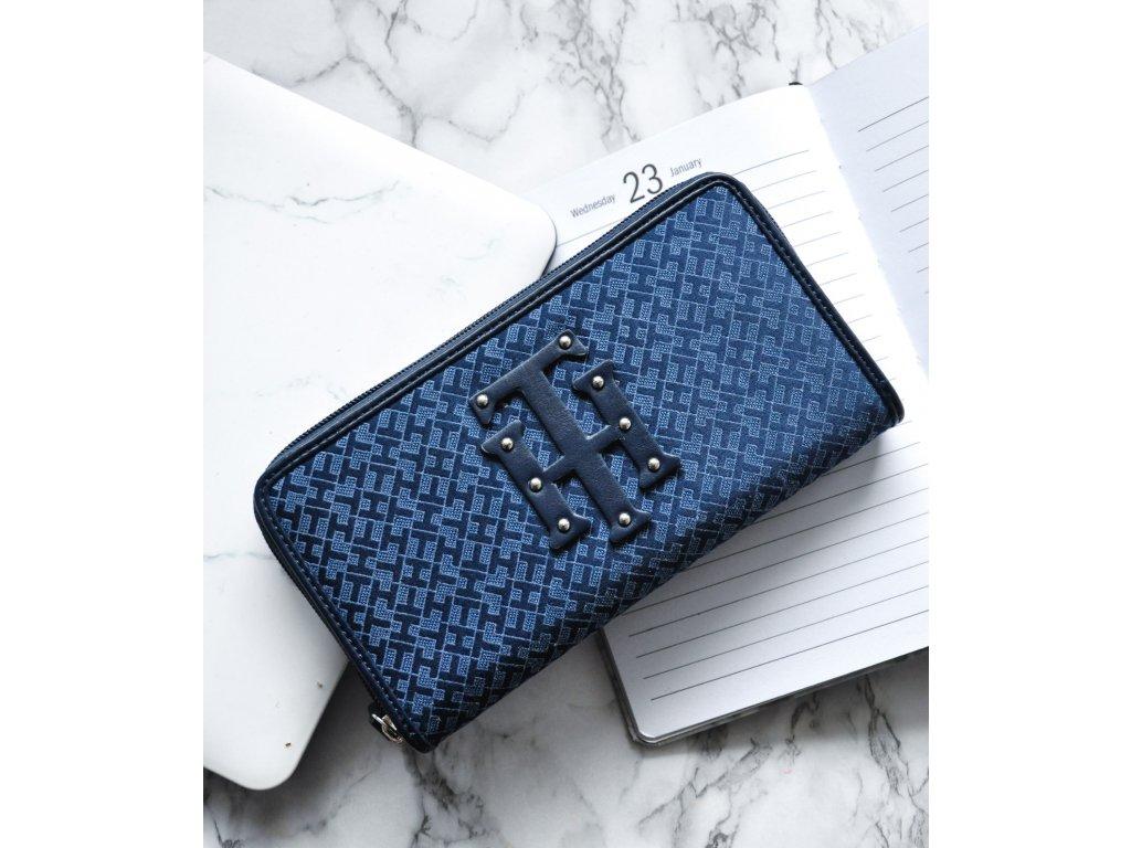 Peněženka Tommy Hilfiger blue