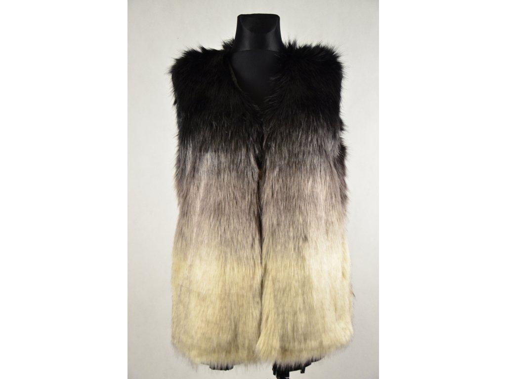 Luxusní vesta, dlouhý chloupek