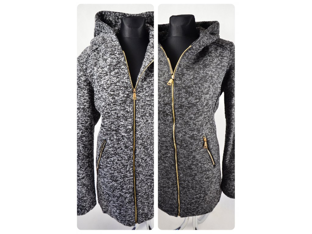 Bunda / kabát s kapucí