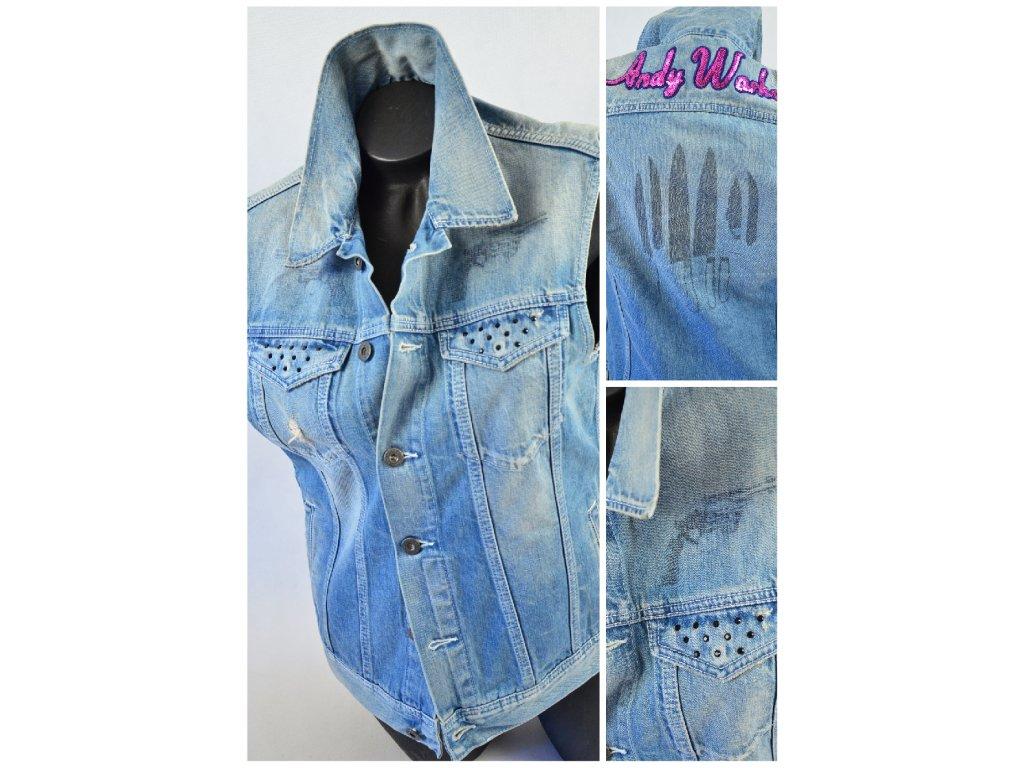 Jeans Vesta - ANDY WARHOL