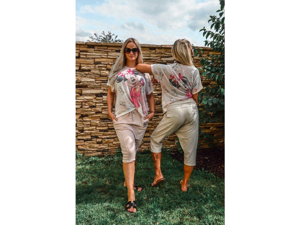 Harémové kalhoty BEIGE