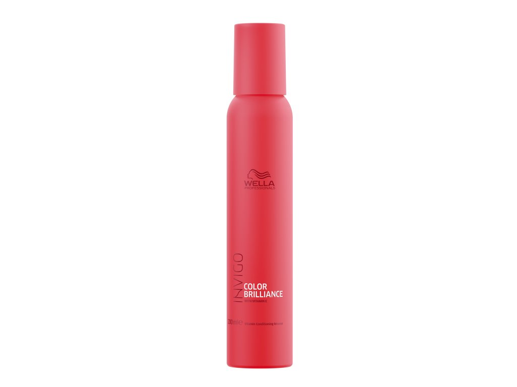 WellaProfessionals InvigoColorBrillianceVitaminConditioningMousse 200ml 1