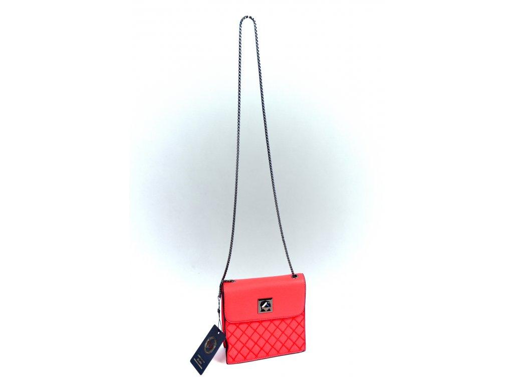 Malá kabelčička MILANO s řetízkem (Barva Černá)