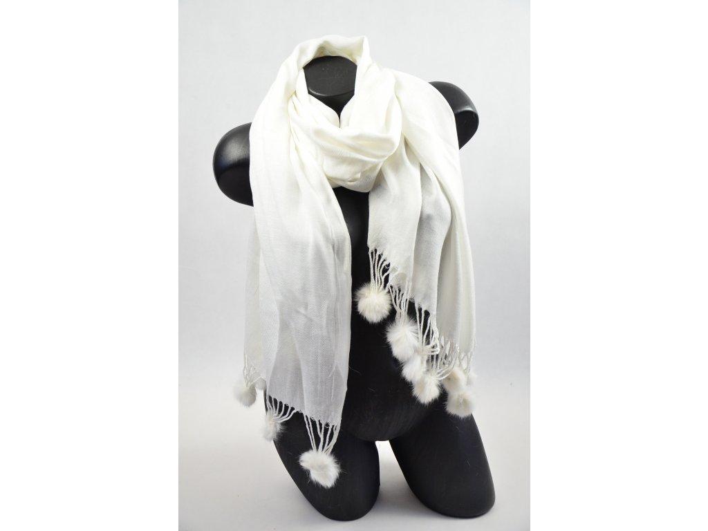 Luxusní šál - top (Barva Černá, Velikost 200x97cm, materiál Bavlna)