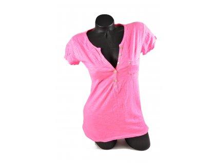 Letní růžové triko