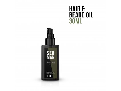 3614226734471 SebMan TheGroomHair&BeardOil 30ml EPI 1