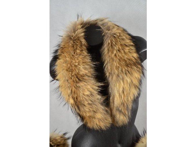 Kožešinový límec MÝVAL | SNOW EAGLE