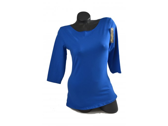 Modré módní triko