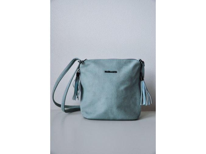 Luxusní kabelka-mesík (Barva světlemodrá)