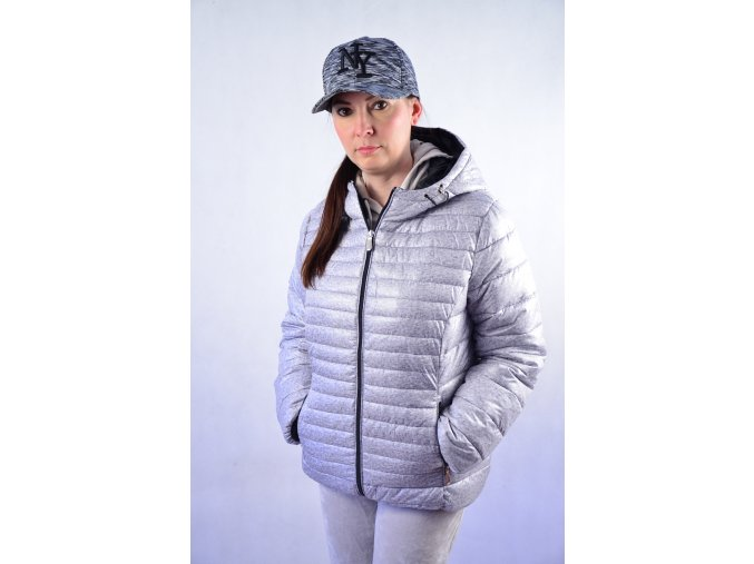 Zimní bunda do pasu s kapucí I