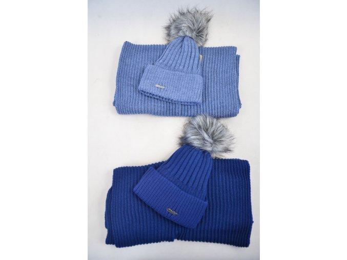 Zimní pletený kulíšek