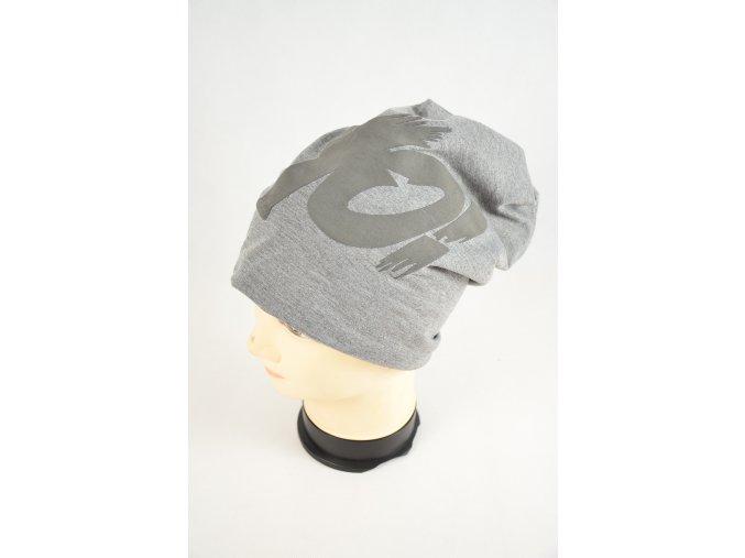 Čepice (Barva Tmavě šedá, Velikost UNI)