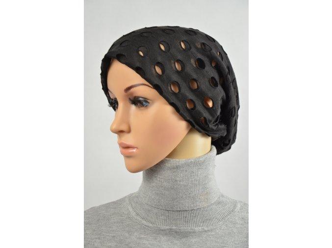 Čepice módní (Barva Světle šedá, Velikost UNI)