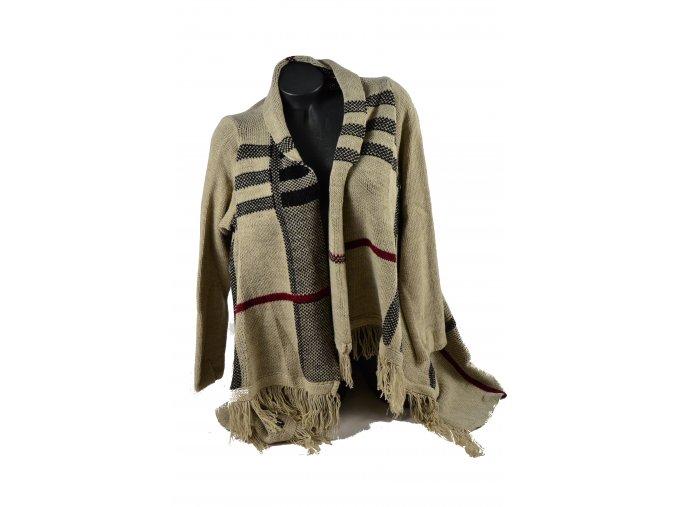 Pletený Cardigan, kabátek - Snow Eagle