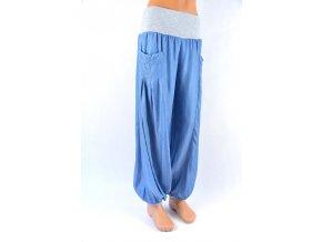stilové harémky, baggi, jeans sultánky