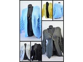 Pletený svetřík