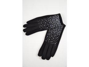 Bavlněné rukavice s kamínky