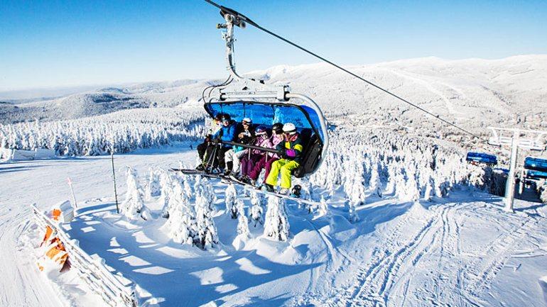 15 nejlepších skiareálů v Česku