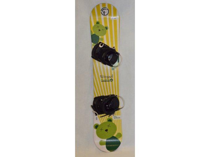 6296 snowboard forepart 126 cm