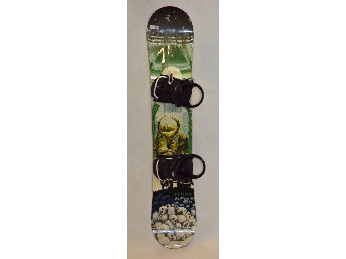 6308 snowboard beany demon 141 cm