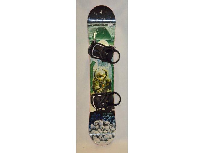 6311 snowboard beany demon 132 cm