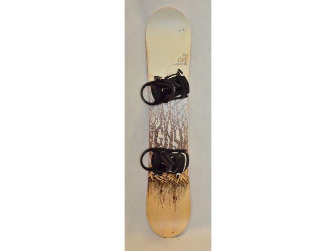 6350 snowboard gnu chb 145 cm