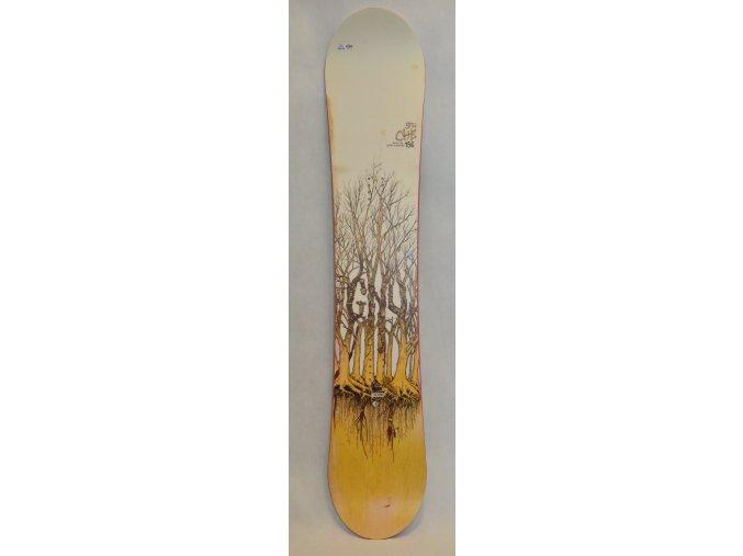 6359 snowboard gnu chb 156 cm