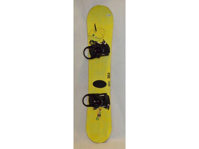 6368 snowboard salomon calbo 158 cm