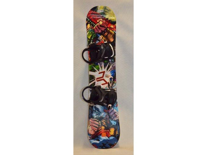6464 snowboard beany hero punch 120 cm