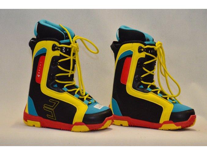 6875 boty na snowboard beany velikost 22 5