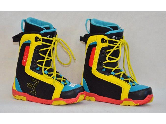 6881 boty na snowboard beany velikost 5 5