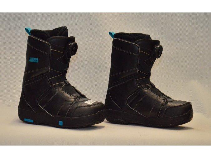 7019 boty na snowboard salomon velikost 22
