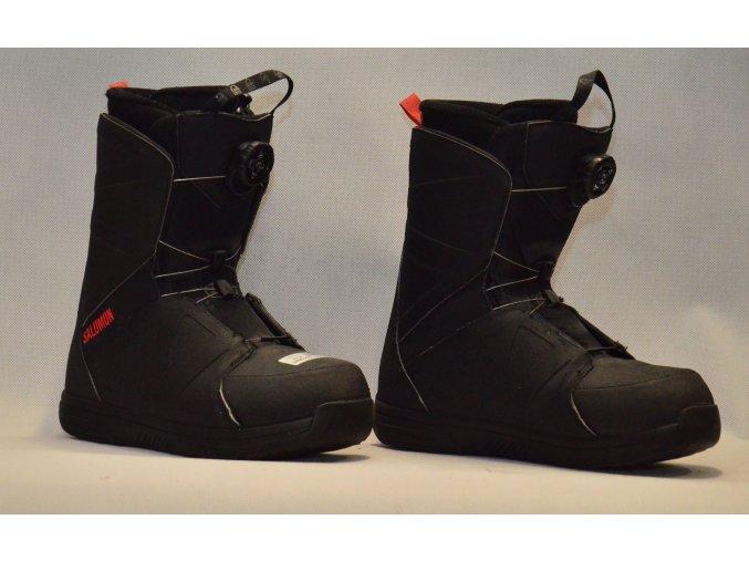 7037 boty na snowboard salomon velikost 8