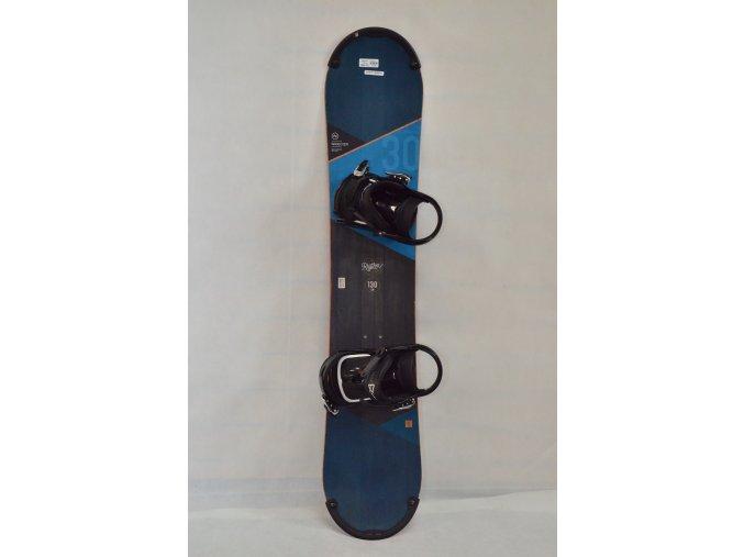 7991 snowboard nidecker rhythm 130 cm