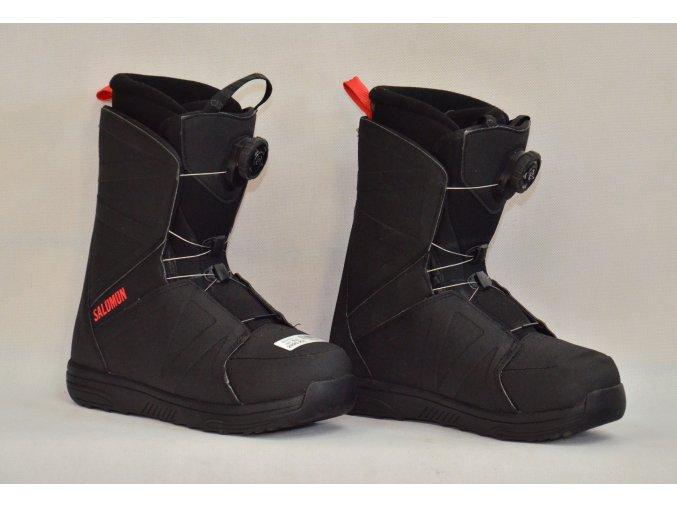8033 boty na snowboard salomon velikost 5 5
