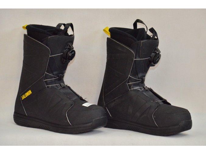 8048 boty na snowboard salomon velikost 10