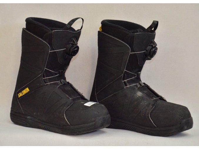 8057 boty na snowboard salomon velikost 10