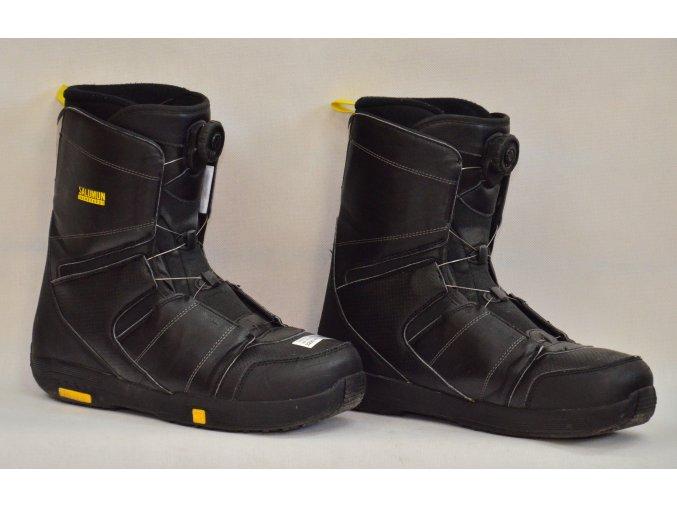 8060 boty na snowboard salomon velikost 11 5