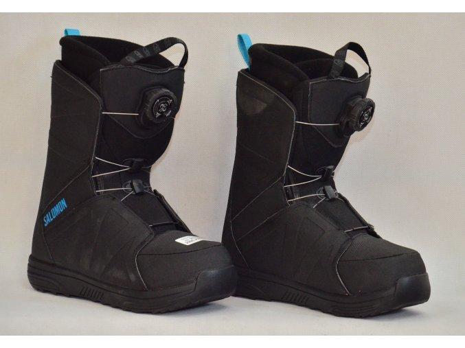 8084 boty na snowboard salomon velikost 23
