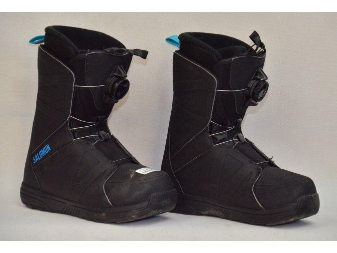 boty na snowboard Salomon velikost 5