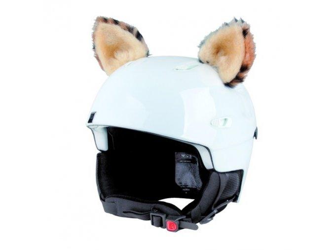 uši na helmu Rys