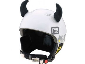 rohy na helmu černé velké