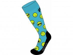 ponožky Relax Happy modré