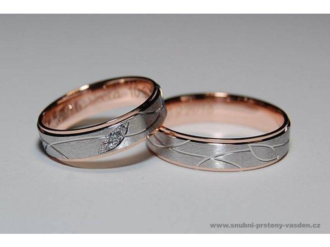 Snubní prsteny LR-384
