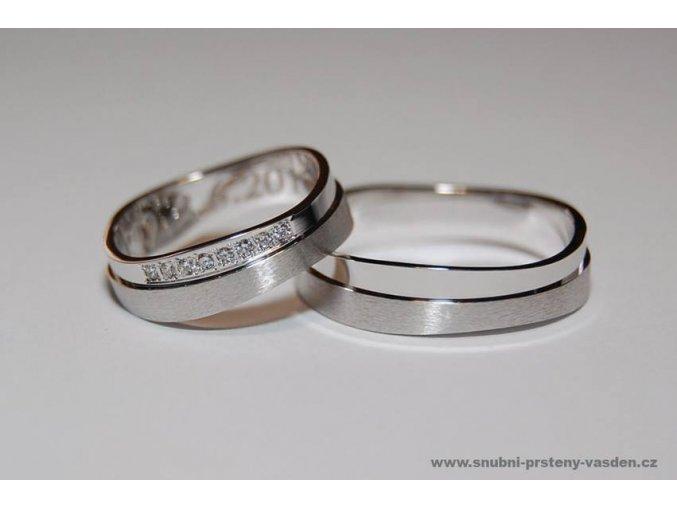 Snubní prsteny LR-404