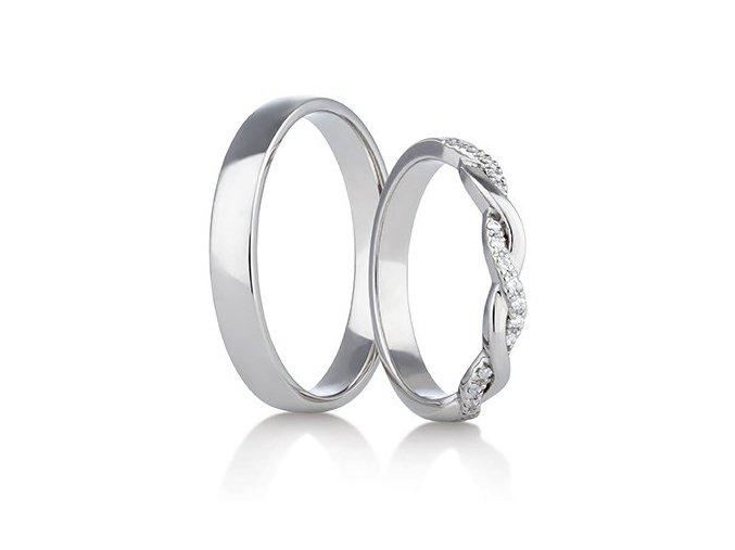 Snubní prsteny LR-293
