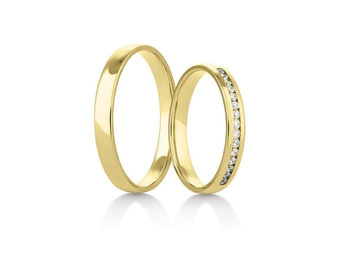 Snubní prsteny LR-417
