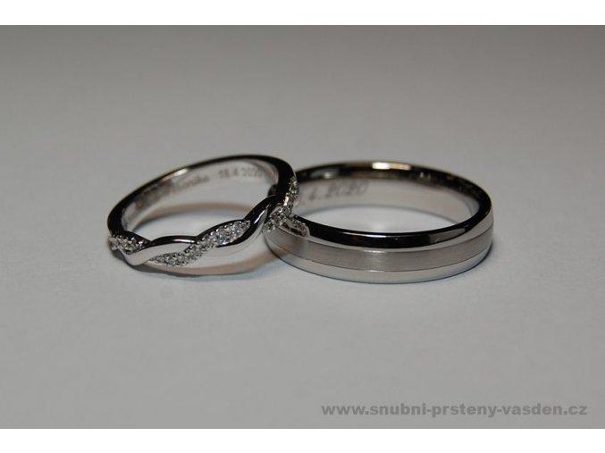 Snubní prsteny LR-293+ ST-0080