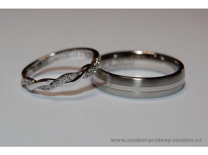 Snubní prsteny LR-293+ ST-0140