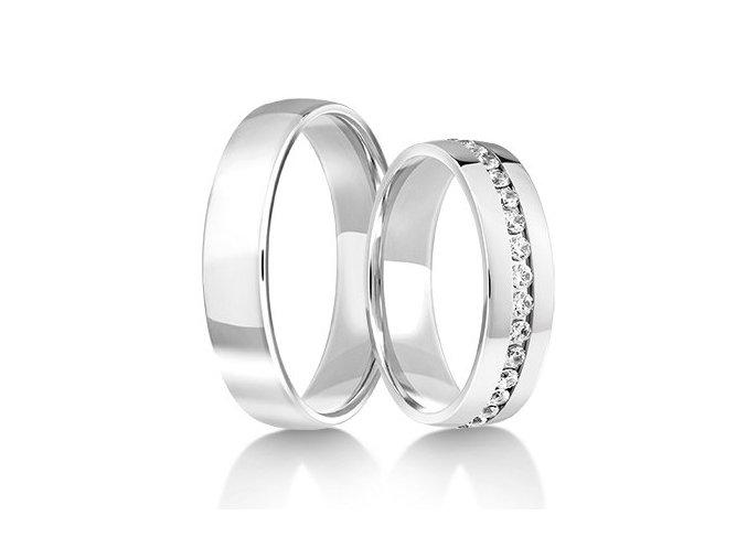 Snubní prsteny LR-122-palladium